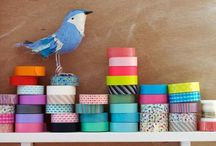 for washi tape genius / : creative ideas : washi tape wow : decorative tape : crafts and projects :  / by Heather Young
