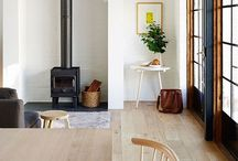 for woodburner perfection / : wood burner : wood stove : room inspiration : winter warmth : focal point : / by Heather Young
