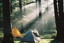 for happy campers / Inspiration for family camping adventures