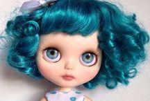 Blythe Doll / Blythe doll, custom blythe, OOAK, bigeyes