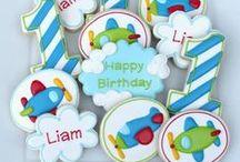 Cookies - Birthday,Letters & Numbers