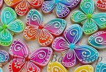 Cookies - Birds,Butterflies