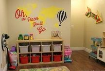 Travel Themed Playroom