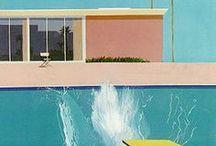 LA - Inspiration / Hockney Inspired mid Century American Glamour