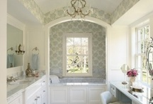 Bathrooms / by Sawdust Girl {Sandra Powell}