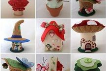 """Unique Pincushions, of Other Crafters / ♥  Pics of other 'unique' pincushions, not mine, that I, also, love; and that are of interest, to me! I am interested to see  what other, new, """"UNIQUE' pincushions; people come up with!  Can't wait!  ♥  https://www.bearheartbottomsetc.com/"""