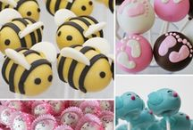 Awesome Cake Pops / Cake Pops; however, Marshmallow Treats are included, also.  Just any treat that is made on a stick, to be eaten!  https://www.bearheartbottomsetc.com/
