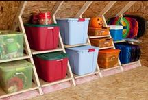 Storage and Organization / by Janeen Bacal