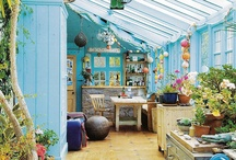 Creative Spaces / Art and craft studio ideas / by Johoanna Robson