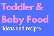 Toddler & Baby Food / Ideas for your picky toddler and some yummy puree ideas for your bambino!