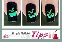 * Halloween Nail Art Design Ideas / Looking for a lot of Simple Tutorials for nail designs?  If you try one of these designs, please share by posting your photo on my Facebook fanpage www.facebook.com/MyBlissKiss / by Bliss Kiss
