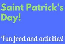 St. Patty's Day / Kids crafts and recipes for St. Pattys Day
