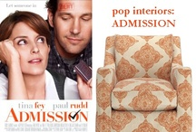 """Pop Interiors: An """"Admission""""-Inspired Room / A living room inspired by the movie """"Admission"""" starring Tina Fey and Paul Rudd. The feel: classic meets rustic."""
