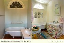 Real Interiors - Glen Magna Show House Bride's Bathroom / Diana Kennedy has created a special design for the Bride's Bathroom at the Glen Magna Farms Endicott Mansion for the Danvers Historical Society. Consistent with the elegant design of this historic mansion, Diana Kennedy took a romantic approach to the Bride's Bathroom, creating a space reminiscent of Victorian times with a look that is both Parisian and Chinoiserie.