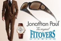 Men's Style Guide / A style guide for men looking for inspiration when shopping to match their Jonathan Paul® original Fitovers™ Sunglasses.