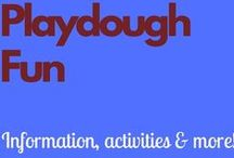 Playdough Fun / Recipes, printables, activities and more!