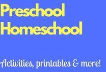 Preschool Homeschool / Activities, printables, and much more to help you homeschool preschool!