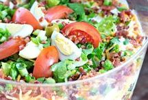 Super salads / Beautiful salad dishes from around the world to tempt your tastebuds