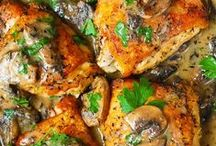 Perfect Poultry / Chicken, duck and other poultry recipes and meal ideas to make your mouth water!