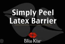 Simply Peel Latex Barrier - Nail Art & Nail Care / Protective Skin Barrier for Proper Cuticle Removal Easy Cleanup Tool for Messy Nail Art Great Base Before Glitter Bomb Polishes You Know It's Dry When You Sparkle 15 ml Makes It A Great Value & Patent Pending  http://www.myblisskiss.com/simply-peel-liquid-latex-barrier-patent-pending/ / by Bliss Kiss