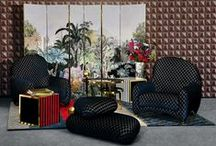 """Lacroix x Roche Bobois / Edited by Roche Bobois Paris, """"Maison Lacroix"""" is Christian Lacroix Maison first furniture collection. Created by Sacha Walckhoff, Creative Director of the House."""