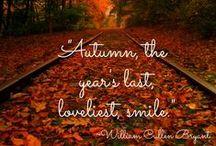 L'automne, mon amour / Parce que parfois (souvent) ma saison préférée me manque...