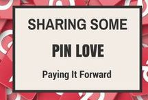 SHARING SOME PIN LOVE (Pay It Forward) / Since Pinterest is all about sharing, why not share the love with everyone. Feel free to post anything except for NUDITY. No limit on pins, but please pay it forward and share some pins off of this board. If interested, send an email to staceyloring@outlook.com and put in the subject line Sharing Some Pin Love Board. Include your Pinterest email address and user id. You don't have to follow me or this board, but it would be kind of nice if you did. Feel free to add your blogger friends.