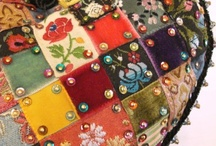 applique, patchwork, quilts, and embroidery