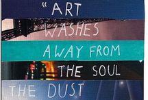 Art~ / Art of any kind feeds my soul~ / by Cynthia Henderson Mittel