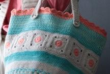 Crochet bags  / by Kirsten Hemmingsen