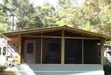 Screen porch in phases