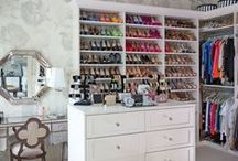 glam closets & dressing rooms.  / this deserves it's own board.