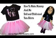 Tutu Tutorials / Learn how to make tutus with step by step tutorials.