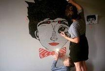 diy wall paintings