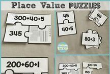Math: Place Value / Teaching place value