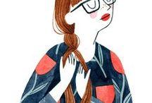 Ilustración / Bellezas ilustradas