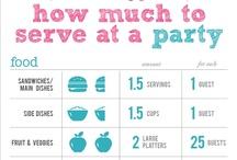 Food // parties
