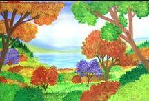 My Paintings / Water Color Paintings