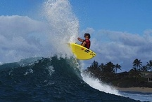 Surf / Surfing and especially surfing on Oahu's Fabled North Shore of Hawaii and at Turtle Bay Resort