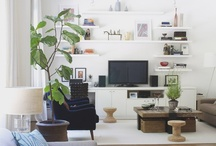 Living Room Ideas / by Maxine Wong