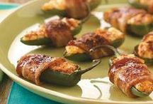 Hors D'oeuvre's / When I go out to eat I just order appetizers. Love them! / by Peggy Evans