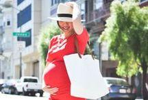 Pregnant and stylish / Embarazada y estilosa
