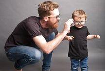 De tal palo... (mums/dads & kids) / El estilo también se hereda. Padres, madres y sus hijos mismo estilo, doble diversión