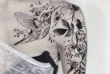 Tatuajes a flor de piel / wonderful, tiny, feminine tattoos