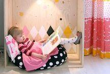 Nurseries: reading corner / Habitaciones infantiles, decoración infantil: rincones de lectura