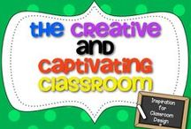 "The Creative and Captivating Classroom! / Welcome!! We hope this board will help you create a classroom that will capture the attention of any learner, while keeping you organized at the same time! We would LOVE for you to share ideas such as:  signs, posters, anchor charts, decor, name plates, even items that can can be repurposed and reused for classroom decor or organization! {Feel free to pin any TPT products that fit!}  ...think ""creative and captivating"" classroom design ideas!"