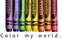 Color My World / Without color life would be so boring and dull. Living and dreaming in color is awesome. Please pin anything or any color that makes you happy. Please see my message board if you would like to be added. ~~~Laura~~~