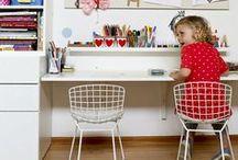 Nurseries: Desks / Habitaciones infantiles, decoración para niños: escritorios, mesas de estudio
