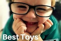 Best Gifts Boys Age 3 / These are the best gifts and top toys for 3 year old boys.  I love making shopping guides for toys because Christmas time comes quicker than I can imagine!