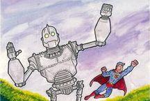 Super Heroes and Cartoon Characters / Super Heroes and Cartoon Characters
